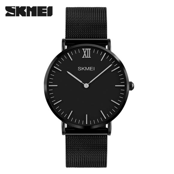 SKMEI 1181 QUARTZ LEATHER Analog Watch